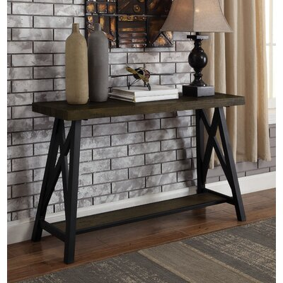 Mayur Industrial Console Table