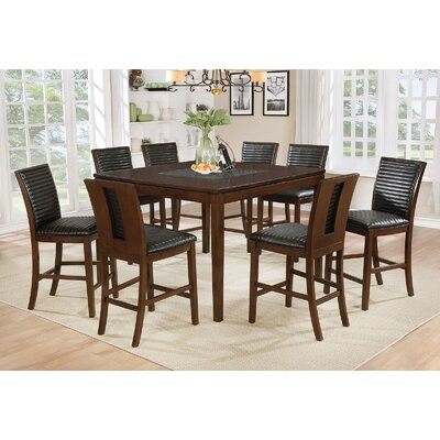Luz 9 Piece Pub Table Set