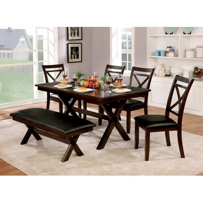 Bexley 6 Piece Dining Table Set