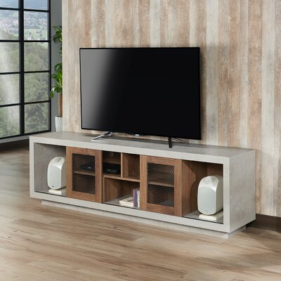 Cioffi Industrial 70.87 TV Stand Color: Distressed Walnut