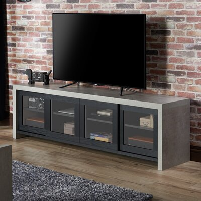 Behan Transitional 70.86 TV Stand Color: Black