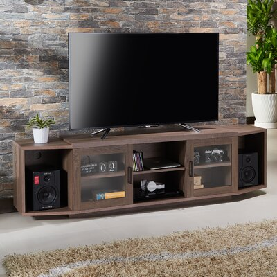 Croom Transitional 70.8 TV Stand Color: Chestnut Brown