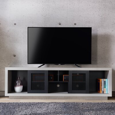 Cioffi Industrial 70.87 TV Stand Color: Black