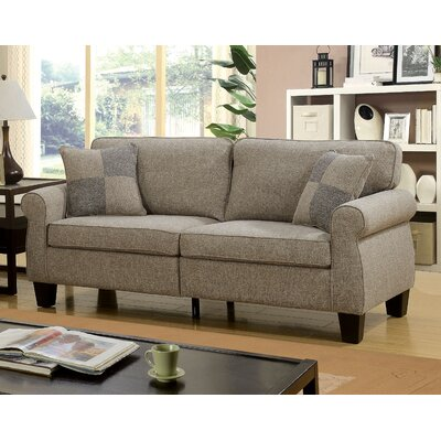 Felton Transitional Sofa Upholstery: Light Gray
