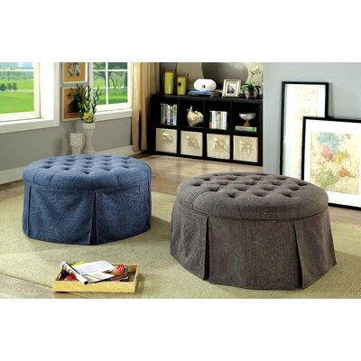 Trefethen Cocktail Ottoman Upholstery: Gray