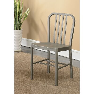 Rine Contemporary Dining Chair Finish: Dark Gray