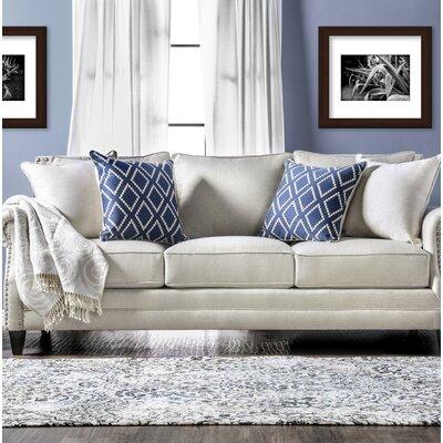 Buda Contemporary Sofa Upholstery: Ivory