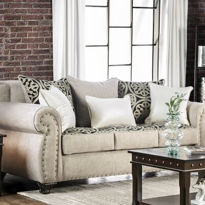 Burcham Contemporary Sofa Upholstery: Light Mocha