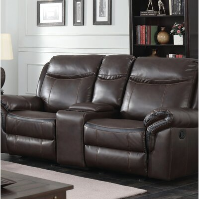 Hassen Transitional Reclining Loveseat