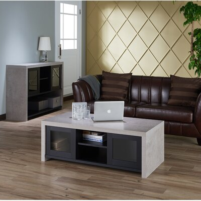 Calvary Industrial 2 Piece Coffee Table Set