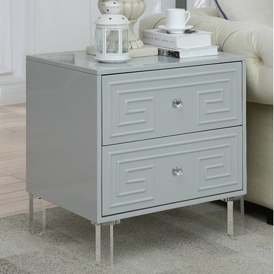 Bostrom End Table Color: Gray