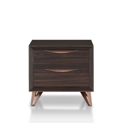 Fetterman 2 Drawer Nightstand