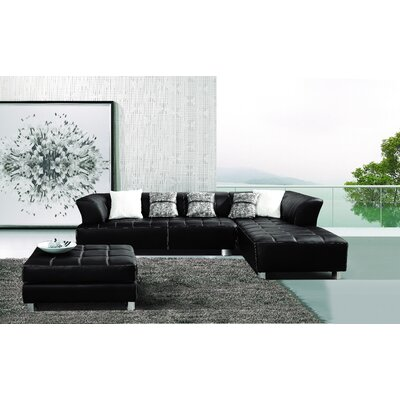 Klyne Sectional with Ottoman