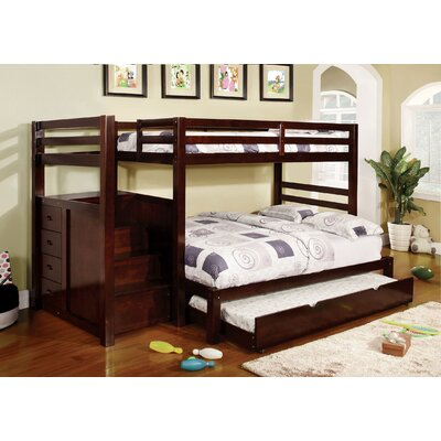 Orson Twin over Full Bunk Bed with Storage