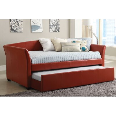 Hokku Designs Roma Daybed with Trundle - Finish: Red at Sears.com