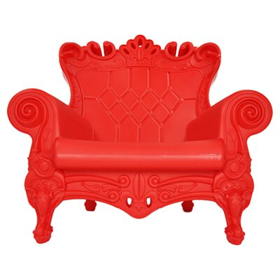 Queen of Love Lounge Chair Upholstery: Red Passion