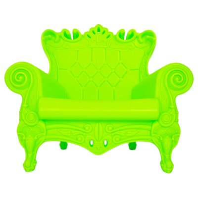 Queen of Love Lounge Chair Upholstery: Pure Green