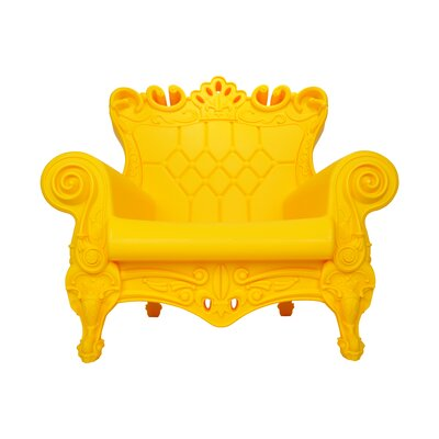 Queen of Love Lounge Chair Upholstery: Sunflower Yellow