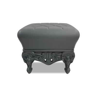 Little Prince of Love Ottoman Upholstery: Grey