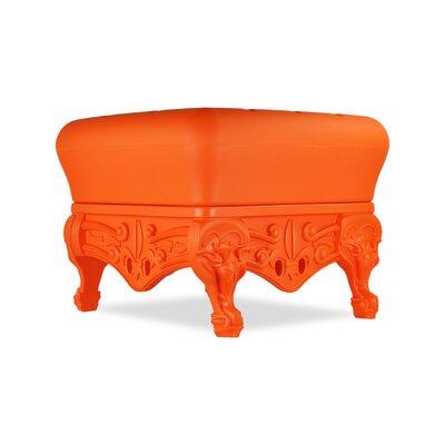 Little Prince of Love Ottoman Upholstery: Sweet Mandarin