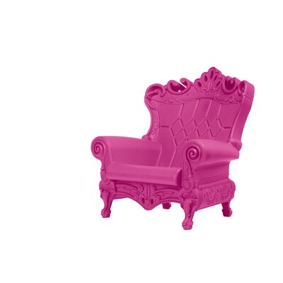 Queen of Love Lounge Chair Upholstery: Pink Intimacy