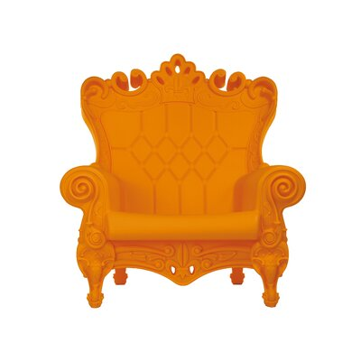 Queen of Love Lounge Chair Upholstery: Sweet Mandarin