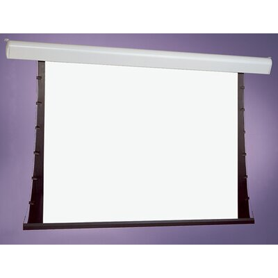 Silhouette Series V Grey Electric Projection Screen Viewing Area: 84 H x 84 W