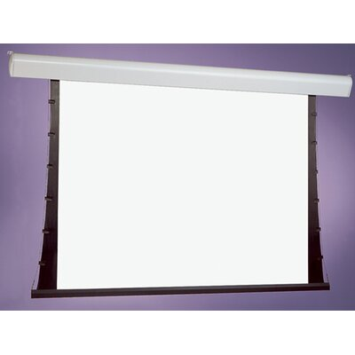 Silhouette Series V White Electric Projection Screen Viewing Area: 84 H x 84 W
