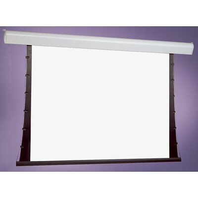 Silhouette Series V White Electric Projection Screen Viewing Area: 96