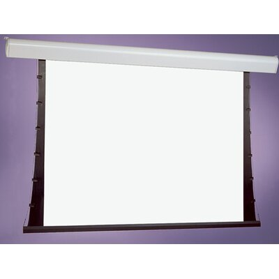 Silhouette Series V White Electric Projection Screen Low Voltage and Quiet Motor Viewing Area: 96 H x 96 W