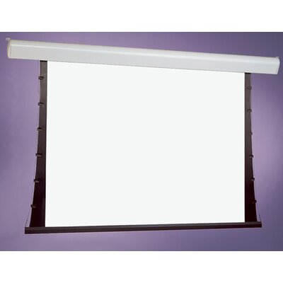 Silhouette Series V White Electric Projection Screen Low Voltage Motor Viewing Area: 50 H x 50 W