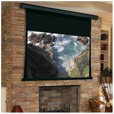 Premier Matte White Electric Projection Screen Viewing Area: 168 H x 168 W
