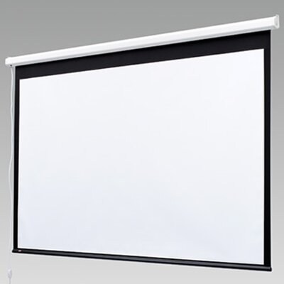 Image Baronet Contrast White Electric Projection Screen Size/Format: 109 diagonal / 16:10
