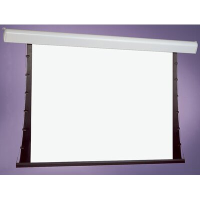 """Draper Silhouette Series V Pearl White Electric Projection Screen - Size / Format: 120"""" diagonal / 4:3"""
