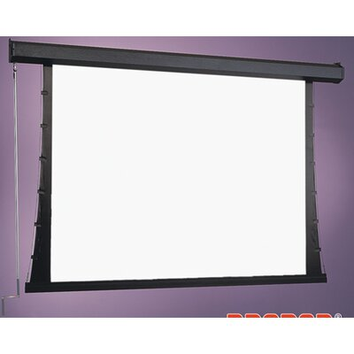 Premier Series C White Manual Projection Screen Viewing Area: 96 H x 96 W