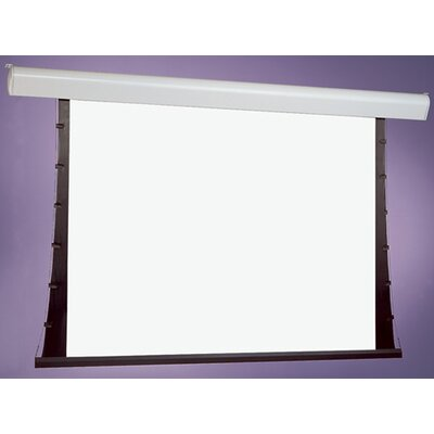 Silhouette Series V Gray Electric Projection Screen Size/Format: 75 diagonal / 15:9
