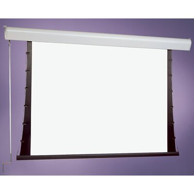 Silhouette Series C White Electric Projection Screen Size: 84 x 84