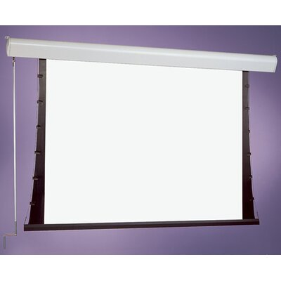 Silhouette Series C White Electric Projection Screen Size/Format: 100 / 4:3