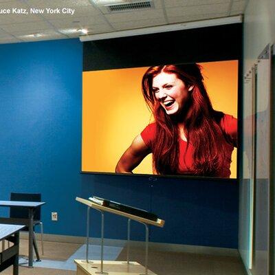 Luma with AutoReturn Matt White 100 diagonal Electric Projection Screen