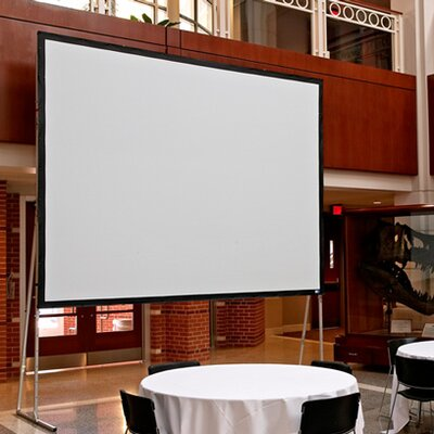Ultimate Cineflex Portable Projection Screen Viewing Area: 108 H x 108 W