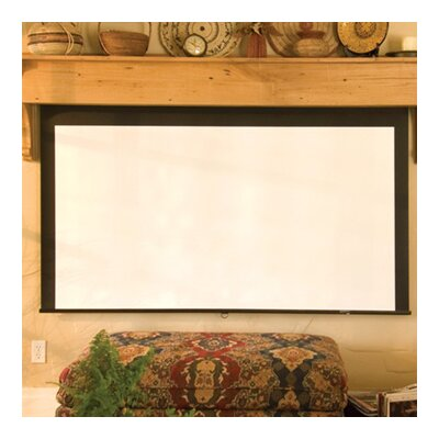 Salara Series M Argent White Electric Projection Screen Size: 72 x 96