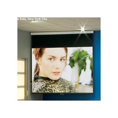 Luma Matt White 100 diagonal Electric Projection Screen