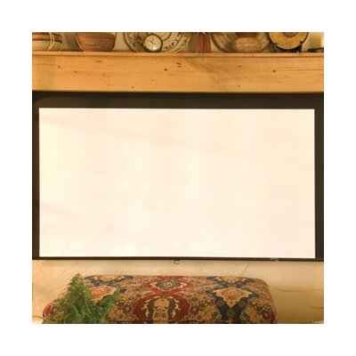 Silhouette/Series M Contrast White Electric Projection Screen Size: 70 x 70