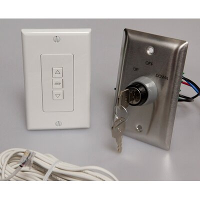 Low Voltage Key Wall Switch