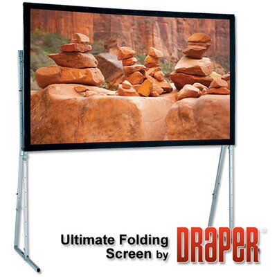 Ultimate Folding Projection Screen Size/Format: 107 diagonal / 16:10, Surface Finish: Matt White