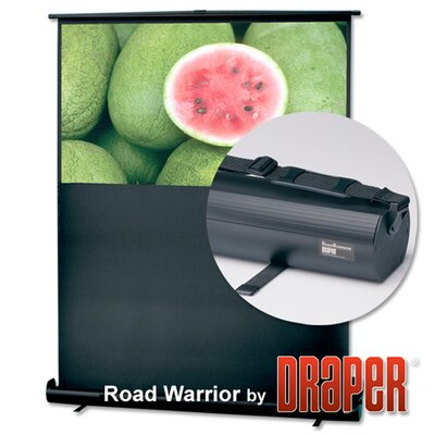 RoadWarrior Argent White Portable Projection Screen Size / Format: 55