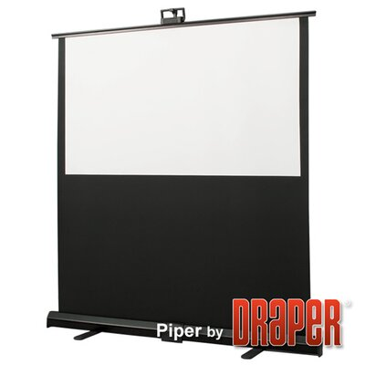 Piper Matt White Portable Projection Screen Viewing Area: 79