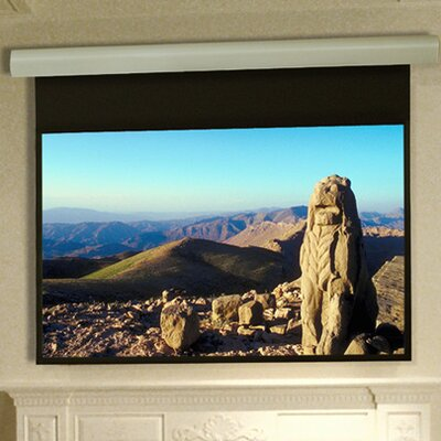 Silhouette Series E Matt White Electric Projection Screen Low Voltage and Quiet Motor Size: 96 x 96