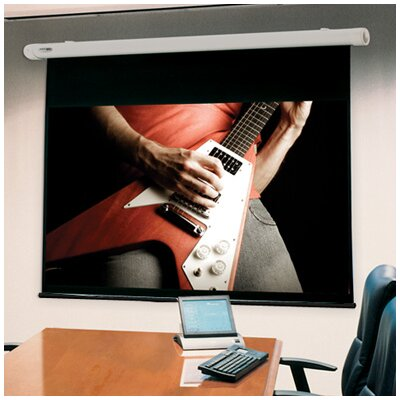 Salara White 100 Diagonal Electric Projection Screen