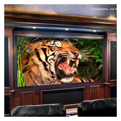 ShadowBox Clarion AV Format Projection Screen Surface Finish: Pure White, Size: 96 x 96
